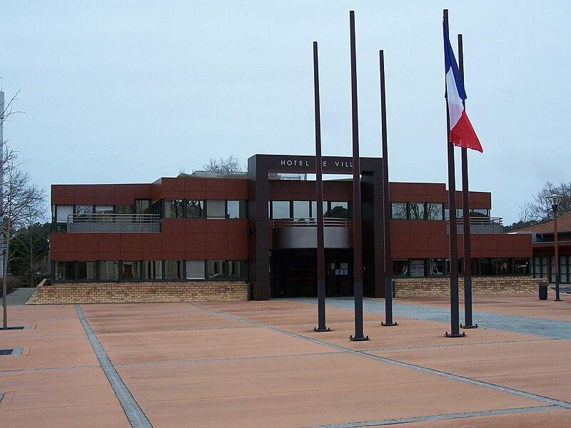 Mairie de Lège-Cap-Ferret, Gironde, France