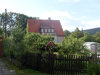 Richard Friedrich Johannes Pfeiffer - Image: Lądek Zdrój, Richard Pfeiffer house (2)