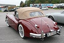 jaguar xk140 drophead coupé 1955
