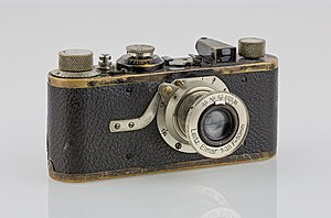 135 film - Leica I, 1927, the first camera worldwide with 135 film