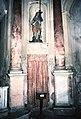 La Cappelletta, 1983, prima dei restauri, la statua di Santa Maria Maddalena.jpg