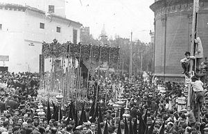 Manuel Fal Conde - Semana Santa, Seville, 1928
