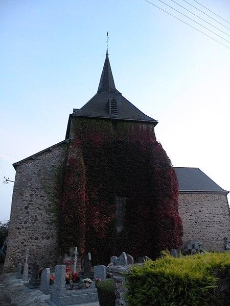 Church of La Gravelle.