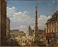 La Place du Châtelet by Étienne Bouhot (Carnavalet P 1286) 01.jpg