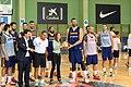 La selección española de baloncesto prepara en Madrid el mundial de China 03.jpg