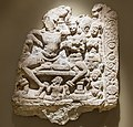 Labit - jataka - Scene of gyneceum in an earlier life of Buddha - Ghantasala India.jpg