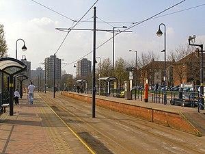 Ladywell tram stop - Ladywell tram stop in 2010