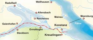 Lage der Reichenau
