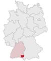 Lage des Landkreises Ravensburg in Deutschland.png