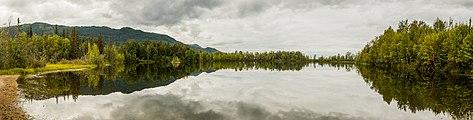 Lago de las Reflexiones, Palmer, Alaska, Estados Unidos, 2017-08-22, DD 01-05 PAN.jpg