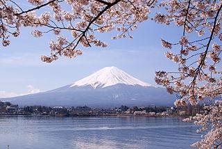 https://upload.wikimedia.org/wikipedia/commons/thumb/9/95/Lake_Kawaguchiko_Sakura_Mount_Fuji_3.JPG/320px-Lake_Kawaguchiko_Sakura_Mount_Fuji_3.JPG