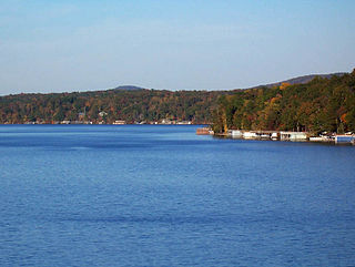 Lake Tillery lake of the United States of America