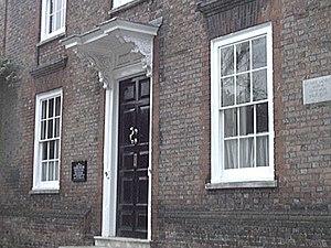 """E. F. Benson - Lamb House, home of E. F. Benson and model for """"Mallards"""" in the Lucia series."""