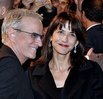 Sophie Marceau - Marceau with then partner Christopher Lambert at the premiere of Skyfall, 2012
