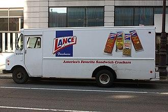 Lance Inc. - A Lance delivery van in Philadelphia, PA.