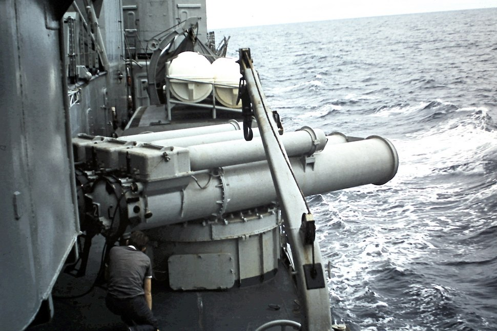 Lancement torpille L3 2