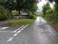 Lane as it passes Dollynwydd - geograph.org.uk - 232853.jpg
