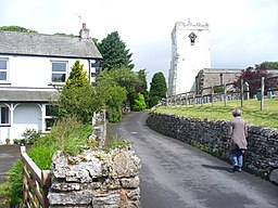 Lane to All Saints, Orton - geograph.org.uk - 1995774.jpg