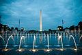Las fuentecillas bailan al ritmo del cha cha chá. Washington se alegra y nos muestra su... obelisco. (4712373409).jpg