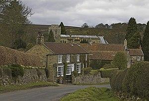 Lastingham - Image: Lastingham Village