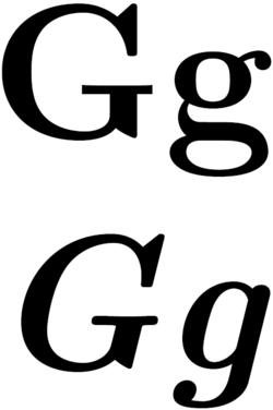 G (bókstavur)