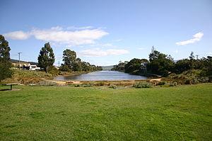 Lauderdale, Tasmania - Image: Lauderdale Canal