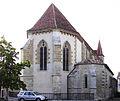 Lauzun - Église Saint-Étienne - Chevet.JPG