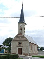 The church in Le Crocq