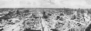 Jean-Marie Baumel - Le Havre in 1944-1945 showing the amount of bomb damage sustained