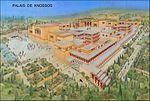 Le Palais de Knossos en Crète. Reconstitution.jpg