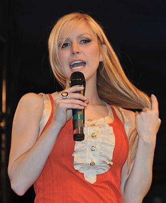 Leah Miller - Miller at the 2009 Juno Fanfare event