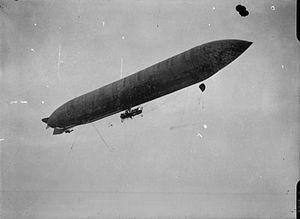 Lebaudy Morning Post - Image: Lebaudy airship RAE O426