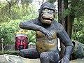 Leering god and ape, Haw Par Villa (Tiger Balm Theme Park), Singapore (41378462).jpg