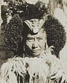 Left face detail, Women of Ladakh in Leh on 23 May 1929, from- Albumblad met 3 fotos. Linksboven het expeditiegezelschap voor het huis van Kh, Bestanddeelnr 32 062 (cropped) (cropped).jpg