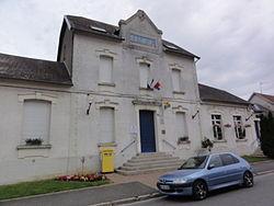 Lehaucourt (Aisne) mairie.JPG