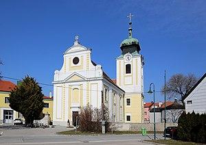 Leopoldsdorf im Marchfelde - Parish church