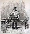 """Les merveilles de l'industrie, 1873 """"Fabrication d'une carafe. Le verrier assis sur son banc"""". (4615001650).jpg"""