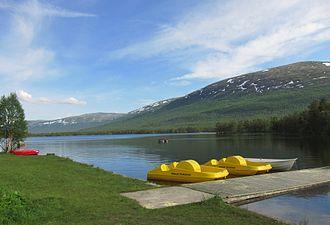 Lesjaskogsvatnet - Northern/western part