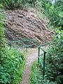 Lesopark Belveder, můstek na horní cestě.jpg