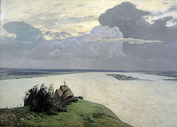 Isaac Levitan: Over Eternal Quiet