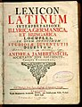 Lexicon Latinum (1742).JPG
