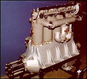 Liberty L-4 - Liberty L-4 aircraft engine