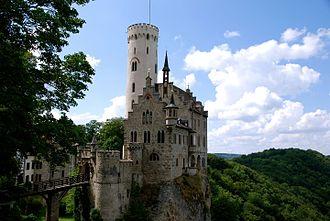 Old Vanderburgh County Jail - The Old Vanderburgh County Jail is modeled after  Liechtenstein Castle.