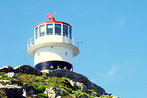 Cape Point - The old lighthouse at the top of Cape Point