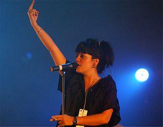 Lily Allen - Allen in 2007