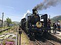 """Limited Express """"SL Yamaguchi"""" at Jifuku Station 2.jpg"""