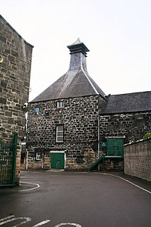 Linkwood distillery