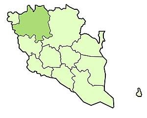 Lipis District - Image: Lipis district highlighted