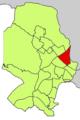 Localització de Son Cotoner respecte del Districte de Ponent.png