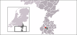 Location of Houthem